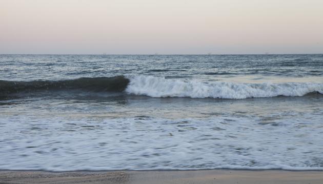 evening spent seaside