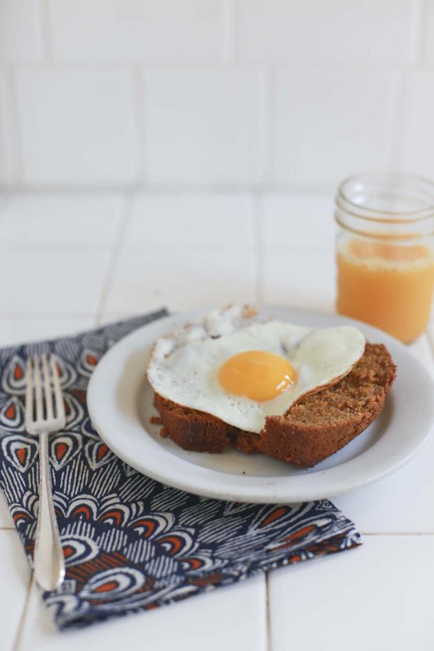 Pumpkin Bread for Breakfast